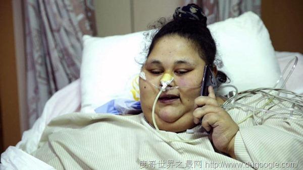 世界上最胖的女人,埃文艾哈迈德体重990斤