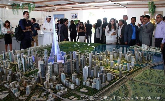 迪拜新建筑高达1000米,刷新世界第一高记录