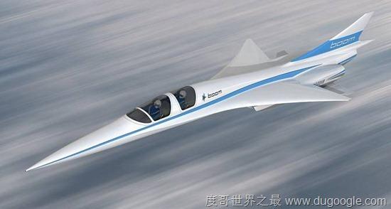 世界最快民用噴射機,亮相紐約飛到倫敦只需要3.5小時