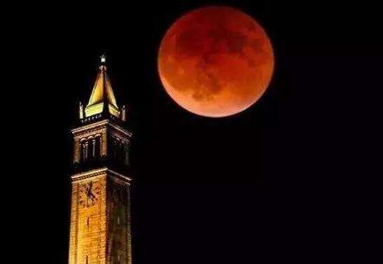 古代血月现象预示凶兆,圣经中血月代表末日来临