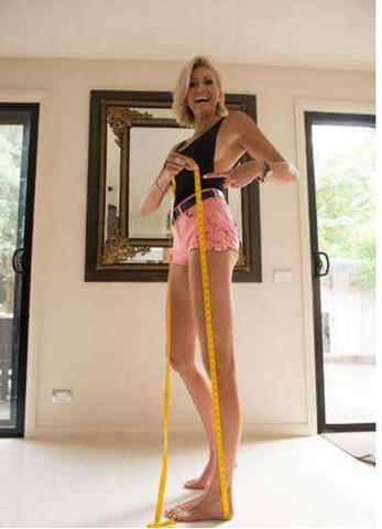 全球最长腿小姐排行,潘克拉托娃1.32米夺冠(中国石淑仪上榜)
