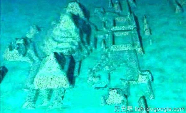 百慕达三角洲爆解谜?海底藏亚特兰提斯古城