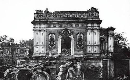 英国首次曝光圆明园被毁前照片,震惊全世界的伟大建筑