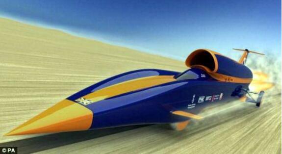 世界上最快的车,美国音速之风极速车(时速3218公里)