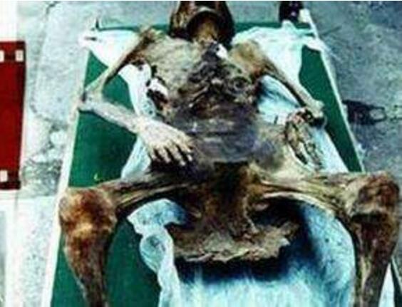 600年前的女尸怀孕产下特灵娜,活了72小时(乃假新闻)