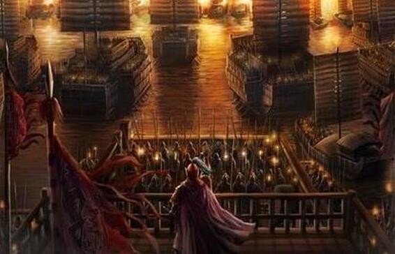赤壁之战的故事,赤壁之战吴蜀联盟大败曹魏(火烧连营)