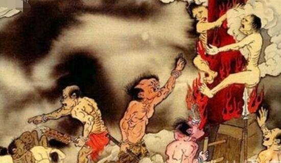 古代最变态的酷刑炮烙,将犯人绑在热铜柱上活活烧死