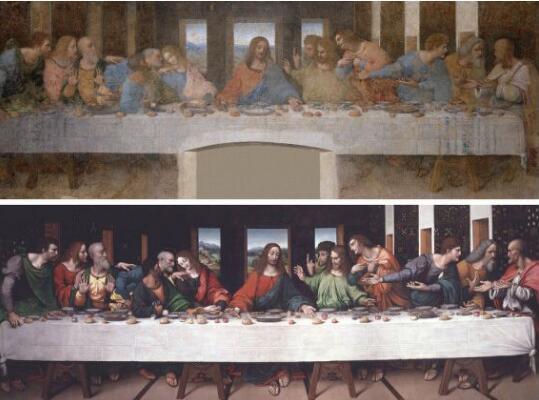 达芬奇最后的晚餐之谜,达芬奇自画像竟成耶稣门徒