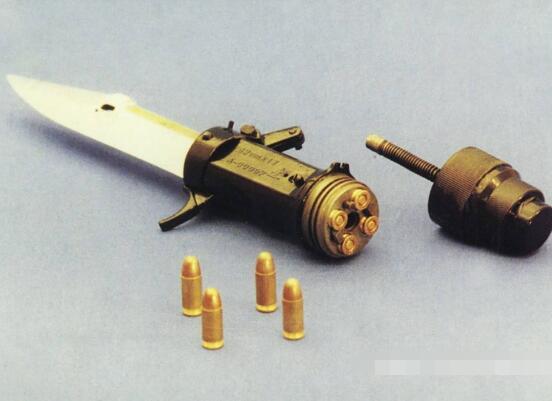 世界十大異形槍,匕首槍稱霸榜首(又能劈砍又能射擊)