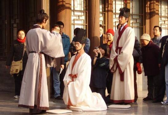 古代男子的弱冠之年是多少岁,20岁成人礼过程