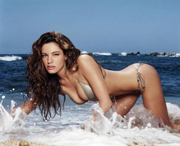 英国最性感大众女神,凯莉·布鲁克大尺度写真集