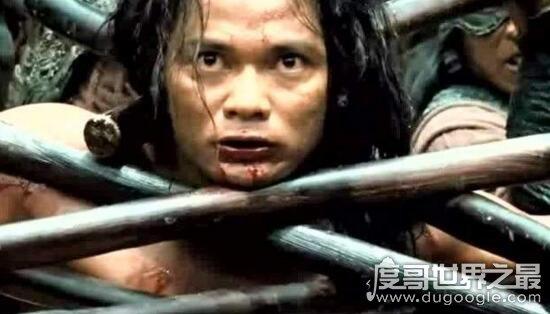 世界十大酷刑盘点,人棍就是把人砍掉四肢流血而死