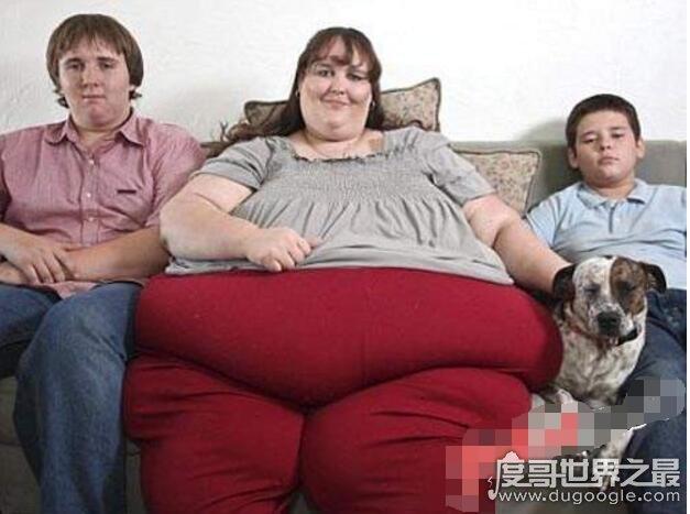 世界上最胖的女人,苏珊娜·埃曼1450斤(超胖女人大合集)