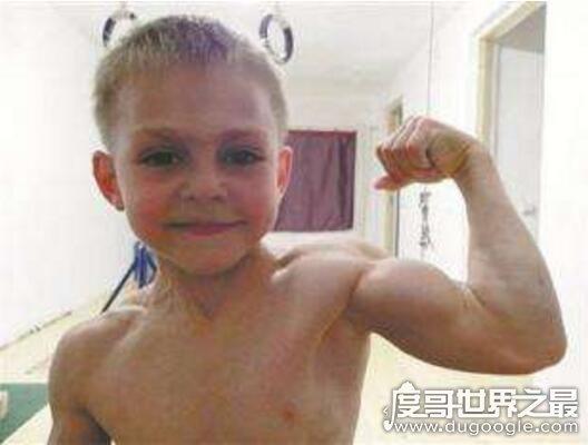 世界上最强壮的男孩,朱利亚诺·斯特勒(5岁时打破世界纪录)