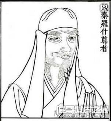 佛教先祖鸠摩罗什,一代高僧竟娶妻两次(鸠摩智并不是他儿子)