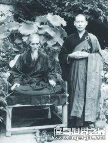 他是一位得道高僧,活了120岁,慈禧太后都要跪拜