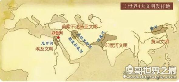 世界四大文明古国的今天,只有中国完好流传5000年