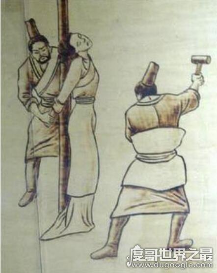古代女子宫刑,幽闭之刑(用木槌捶落女性子宫让其不能性X)