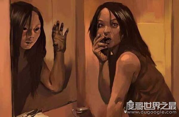 为什么晚上不能照镜子,容易看到令人恐惧的东西(背后有鬼)