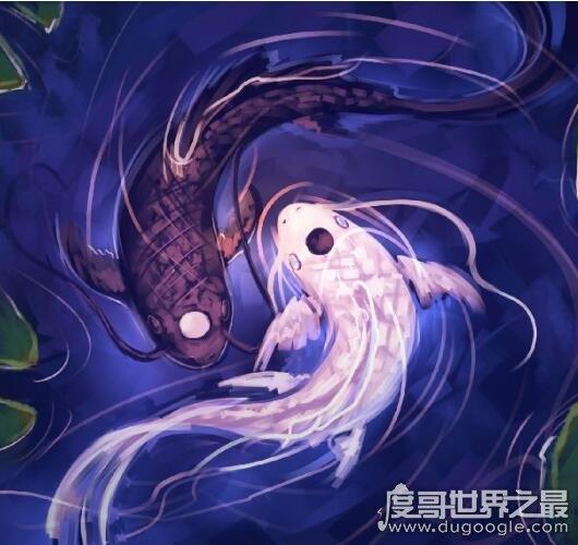 阴阳鱼太极图有什么含义,被称为中华第一图可辟邪招福