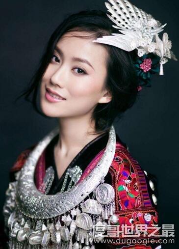 中国十大苗族美女,最美苗族形象大使杨一方惊艳