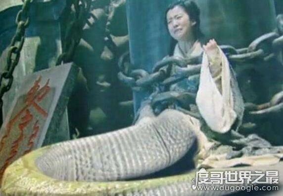 女娲真身吓人图片,创世始祖女娲的上古形象竟是人首蛇身