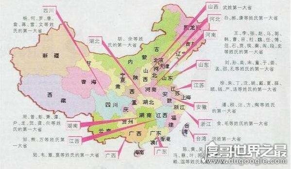 2018中国第一大姓为李,平均每100个人中就有8个是姓李的