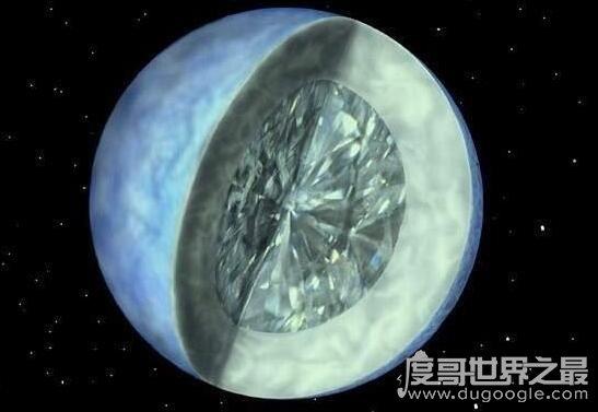 全宇宙最富有的星球,钻石星球(地心里全是钻石)