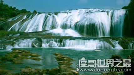 中国最大的瀑布,黄果树瀑布(高度77.8米/宽101米)