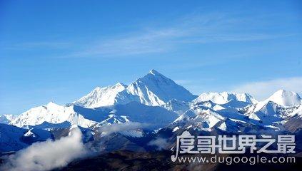 世界上最高的山峰,比世界第二峰高233米