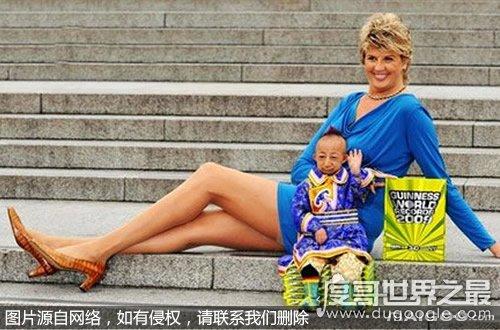 世界上最小的人,身高仅74.61厘米(身长相当于15个月的宝宝)