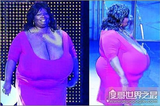 世界上最大的天然胸围女人,斯蒂斯拥有36斤远超G罩巨乳