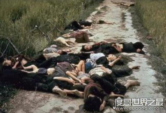 越南美莱村惨案奸杀568人,元凶却得到美国的包庇太可耻