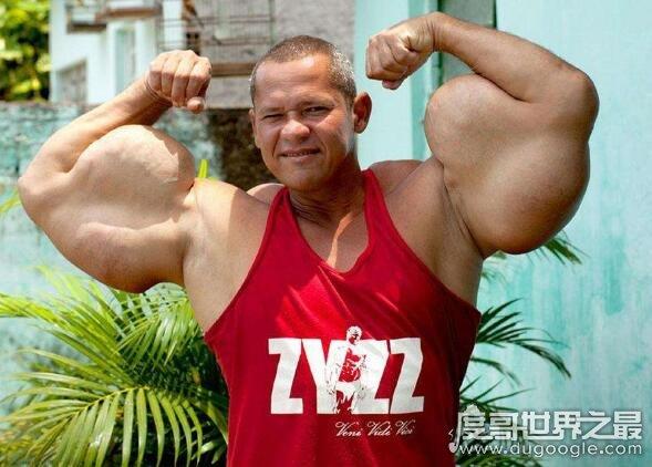 世界上最强壮的人盘点,现实版的绿巨人(手臂比人腰还粗)