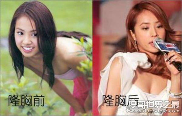 蔡依林整容前后照片对比,整容前(酷似凤姐)遭网友吐槽