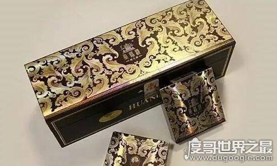 中国最贵的天价烟,黄鹤楼(大金砖)一条就要3万