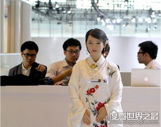 世界十大美女机器人,中科大校花佳佳与真人完全一样
