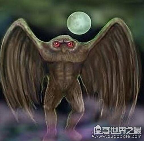 天蛾人是否真的会诅咒,看过天蛾人的都离奇死亡