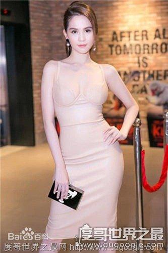 越南第一美女,邓玉贞看起来像昆凌, Ngoc Trinh吸引宅男