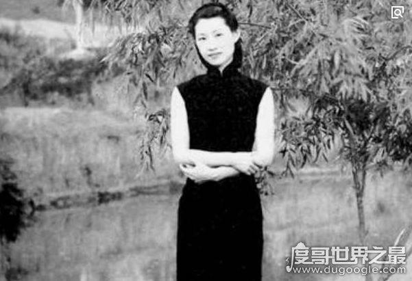赵四小姐的真实照片有多美,温婉动人的气质美人儿