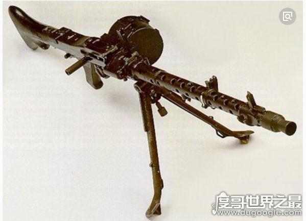世界十大机枪排名,马克沁MG08机枪居榜首(步兵的终结者)
