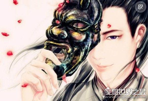 中国古代四大美男,兰陵王面具下竟藏着一副如此俊俏的脸