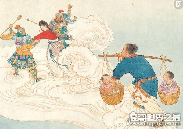 中国古代民间四大传说,至死不渝的爱情故事(孟姜女结局最惨)
