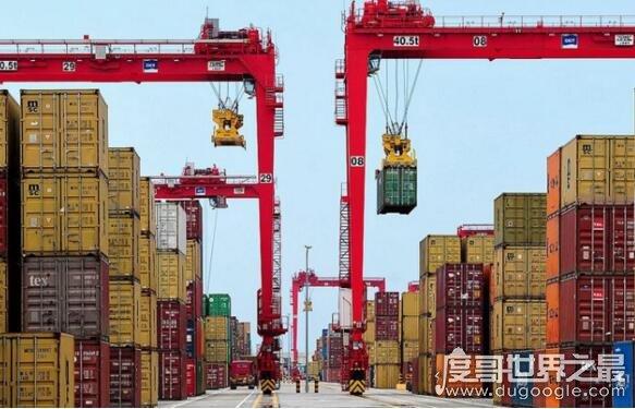 欧冠万博官网登陆出口国排名,中国2.2万亿美元牢牢占据第一
