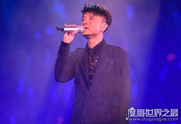 盘点十大男歌手新生代唱将,陈奕迅红遍半边天(叱咤乐坛)