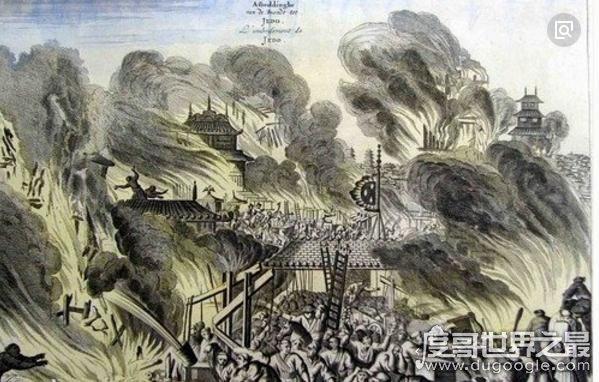 盘点人类历史上十大超级火灾,火光照耀下的文明
