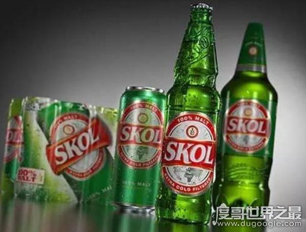 世界上销量最高的十大啤酒品牌,中国的雪花啤酒稳居榜首