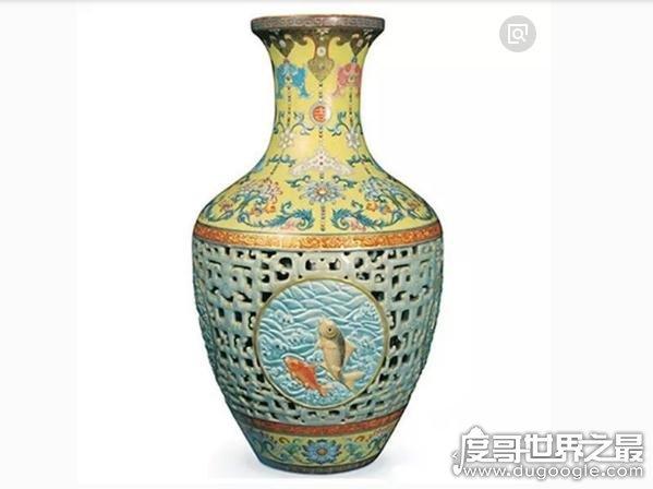 中国十大最贵的瓷器排行榜,元青花萧何月下追韩信梅瓶(7.12亿)