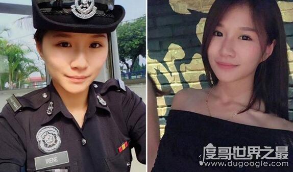 中国最美警花木叶斯尔·尔肯,看上一眼就有恋爱的感觉