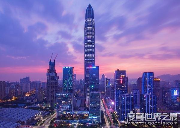 深圳最高樓,平安大廈刷新深圳新高度(118層600米)